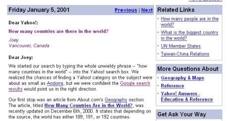 Google on, Yahooers!